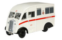 76CM007 - Oxford Diecast City Of Birmingham Ambulance Commer Q25