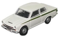 Oxford Diecast - White Ford Cortina Mk1 - 76COR1001