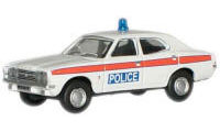 New Modellers Shop - Oxford Diecast - Devon & Cornwall Police Ford Cortina Mk3 - 76COR3004