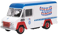 76CWT008 - Oxford Diecast Commer Walk Thru - Gerry Cottles Circus