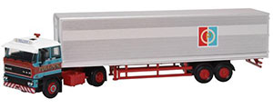 Oxford Diecast DAF 3300 - Short Van Trailer - 76D28003