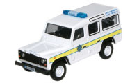 New Modellers Shop - Oxford Diecast - Oxford Diecast Garda Land Rover Defender - 76DEF004