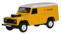 Oxford Diecast Land Rover Defender - British Rail - 76DEF007