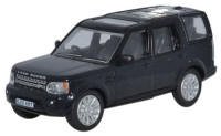 Oxford Diecast Land Rover Discovery 4 - Santorini Black - 76DIS002
