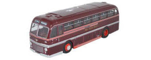 Oxford Diecast Duple Roadmaster - Wye Valley Motors - 76DR003