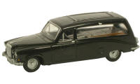 Oxford Diecast OO Gauge Model Railway Vehicles - Oxford Diecast Daimler Black Hearse 76DS002