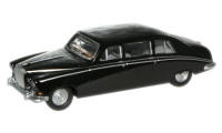 Oxford Diecast OO Gauge Model Railway Vehicles - Oxford Diecast Black Daimler Limo 76DS006