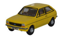 Oxford Diecast Ford Fiesta MkI - Jasmine Yellow - 76FF003