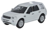 Oxford Diecast Land Rover Freelander - Fuji White - 76FRE002