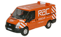 Oxford Diecast Ford Transit - RAC Van - 76FT003