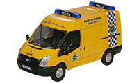 Oxford Diecast Ford Transit - Merseyside Police Mobile Camera - 76FT004