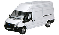 New Modellers Shop - Oxford Diecast - Ford Transit LWB - White - 76FT006