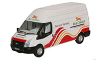 New Modellers Shop - Oxford Diecast - Ford Transit LWB High - Bus Eireann - 76TF009