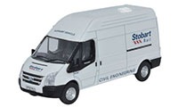 Oxford Diecast Ford Transit LWB High - Stobart Rail - 76TF010