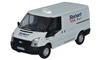 Oxford Diecast - Ford Transit SWB Low Roof Stobart Rail - 76TF012