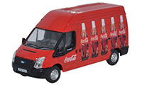 76FT013CC - Oxford Diecast Ford Transit Coke Van