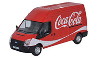 Oxford Diecast Ford Transit LWB High Roof Coke Van - 76FT014CC