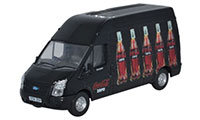 Oxford Diecast Ford Transit LWB High Roof Coke Zero Van - 76FT015CC