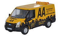 Oxford Diecast Ford Transit SWB Low Roof AA Van - 76FT016