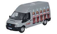Oxford Diecast Ford Transit LWB High Roof Diet Coke (Bottles) - 76FT018CC