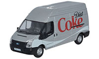 Oxford Diecast Ford Transit LWB High Roof Diet Coke - 76FT019CC
