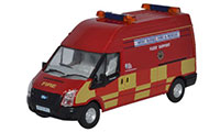 Oxford Diecast Ford Transit LWB High Roof West Sussex Fire and Rescue - 76FT020