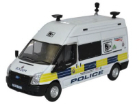 76FT026 - Oxford Diecast Ford Transit LWB High Network Rail Speed Camera