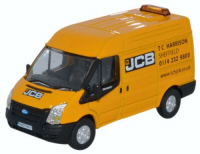 Oxford Diecast - Ford Transit SWB Medium Roof JCB - 76FT027