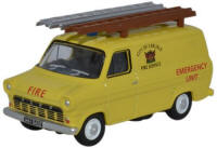 Oxford Diecast Ford Transit Mk1 - City of Carlisle Fire Service - 76FT1004