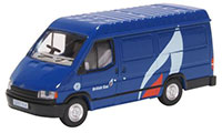 76FT3008 - Oxford Diecast Ford Transit Mk3 - British Gas