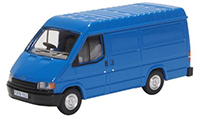 76FT3009 - Oxford Diecast Oxford Diecast Ford Transit Mk3 - Gentian Blue