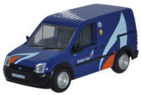 Oxford Diecast Ford Transit Connect - British Gas - 76FTC004
