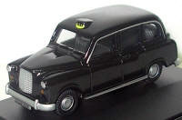 Oxford Diecast OO Gauge Model Railway Vehicles - FX4 London Black Cab / Taxi - 76FX4001