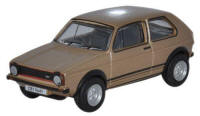 Oxford Diecast Diamond Copper Brown Metalic Golf GTI - 76GF006