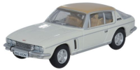 Oxford Diecast Jensen Interceptor - Old English White / Tan - 76JI007