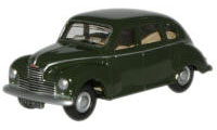 New Modellers Shop - Oxford Diecast - British Racing Green Jowett Javelin - 76JJ007
