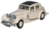 Oxford Diecast Cream SS Jaguar 2.5 Saloon - 76JSS001