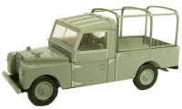 Oxford Diecast Land Rover Series 1 Grey - 76LAN1109001