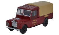 Oxford Diecast British Railways Land Rover -  76LAN1109009