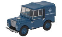 76LAN180006 - Oxford Diecast Land Rover Series 1, 80 - Hard Top RAC
