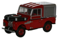 New Modellers Shop - Oxford Diecast -  Land Rovert Series 88 Fire Red - 76LAN188012