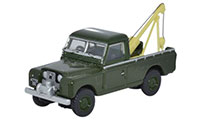 Oxford Diecast Land Rover Series 2 - Tow Truck Bronze Green - 76LAN2009