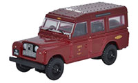 Oxford Diecast Land Rover Series 2 - Station Wagon British Railways - 76LAN2010