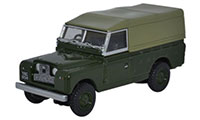 Oxford Diecast Land Rover Series 2 - Canvas Back Bronze Green - 76LAN2011