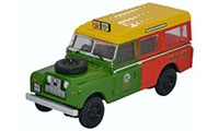 Oxford Diecast Land Rover Series 2 - Station Wagon Shell / BP - 76LAN2013
