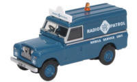 76LAN2017- Land Rover Series 2 LWB Hard Top RAC Radio Patrol