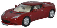 Oxford Diecast - Lotus Evora Canyon Red / Oyster - 76LEV001