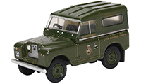 76LR2S005 - Oxford Diecast Land Rover Series 2 SWB Hard Back Civil Defence