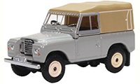 76LR3S003 - Oxford Diecast Land Rover Series 3 - Canvas Mid Grey