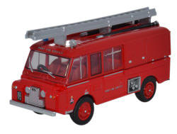 Oxford Diecast Land Rover FT6 Carmichael Army Fire Service - 76LRC004